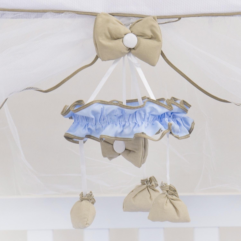 Móbile Elegance Coroa Azul