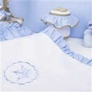 Manta Elegance Coroa Azul