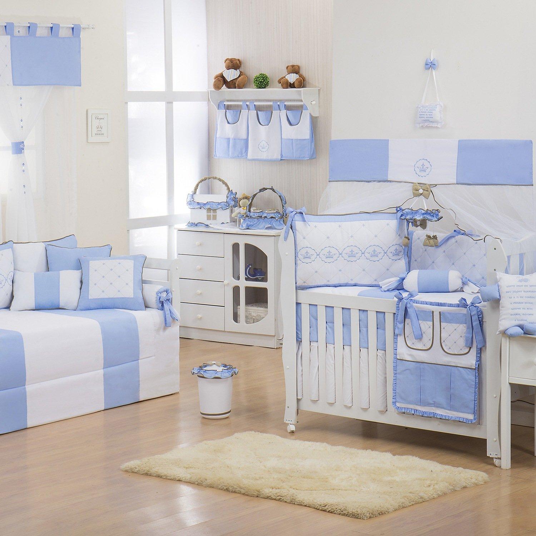 Quarto para Bebê Elegance Coroa Azul