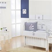 Quarto Econômico para Bebê sem Cama Babá Baby Boy Navy Marinho