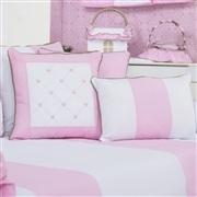 Almofadas Decorativas Elegance Teddy Rosa