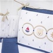 Quarto Econômico para Bebê Elegance Ursinho Marinheiro Marinho