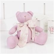 Ursas Rosê com Laço Realeza