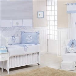 Quarto Econômico para Bebê sem Cama Babá Baby Boy Navy Azul