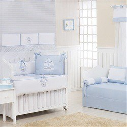 Quarto Econômico para Bebê Baby Boy Navy Azul