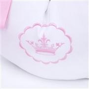 Quarto Econômico para Bebê Elegance Coroa Rosa