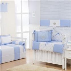 Quarto Econômico para Bebê Realeza Luxo Azul
