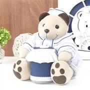 Urso Porta Cotonete Navegador
