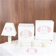 Kit Higiene Ursa Soneca Rosa