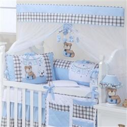 Kit Berço Baby Bear Azul