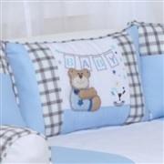 Kit Cama Babá Baby Bear Azul