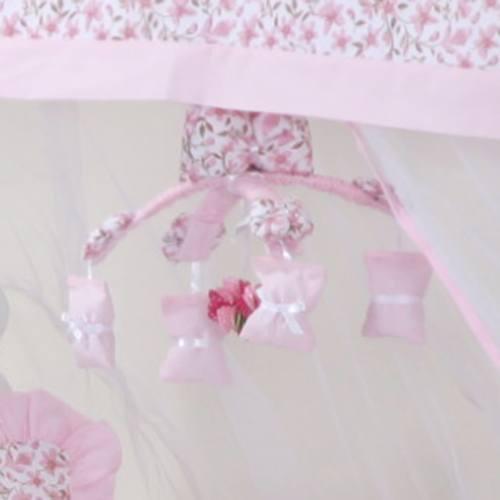 Móbile Floral Rosa