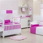 Quarto para Bebê Casinha dos Pássaros Pink