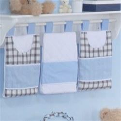 Porta Fraldas Varão Baby Bear Azul