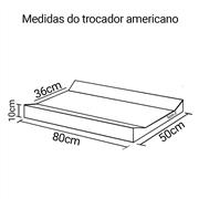 Trocador Americano Rosa