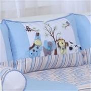 Kit Cama Babá Reino dos Animais Azul