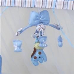 Móbile Reino dos Animais Azul