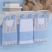 Porta Fraldas Varão Reino dos Animais Azul
