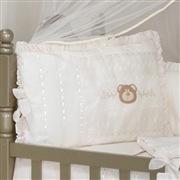 Quarto para Bebê sem Cama Babá Urso Luxo Palha com Bordado Inglês