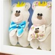 Nicho Decorativo Família Urso Menina