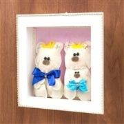 Nicho Decorativo Família Urso Menino