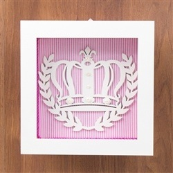 Nicho Decorativo Princess Rosa