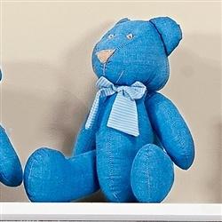Urso Gravata Listrada G Azul