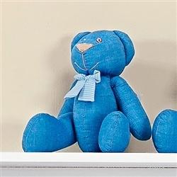 Urso Gravata Listrada P Azul
