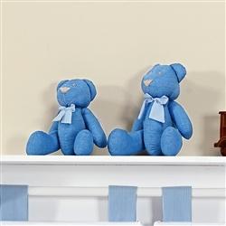 Família Ursos Gravata Listrada Azul