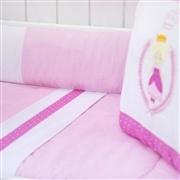 Kit Berço Rainha Pink
