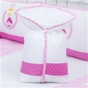 Porta Bebê Rainha Pink