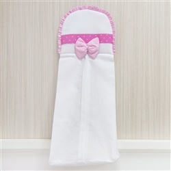 Porta Fraldas Rainha Pink
