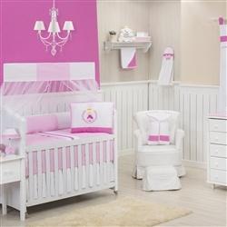 Quarto para Bebê sem Cama Babá Rainha Pink