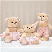 Família Ursos Amore Rosê