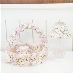Kit Acessórios Imperial Rosa Floral