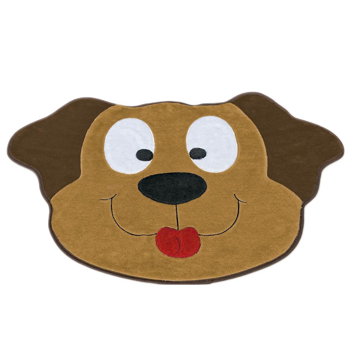Tapete Big Cachorro Feliz Caramelo
