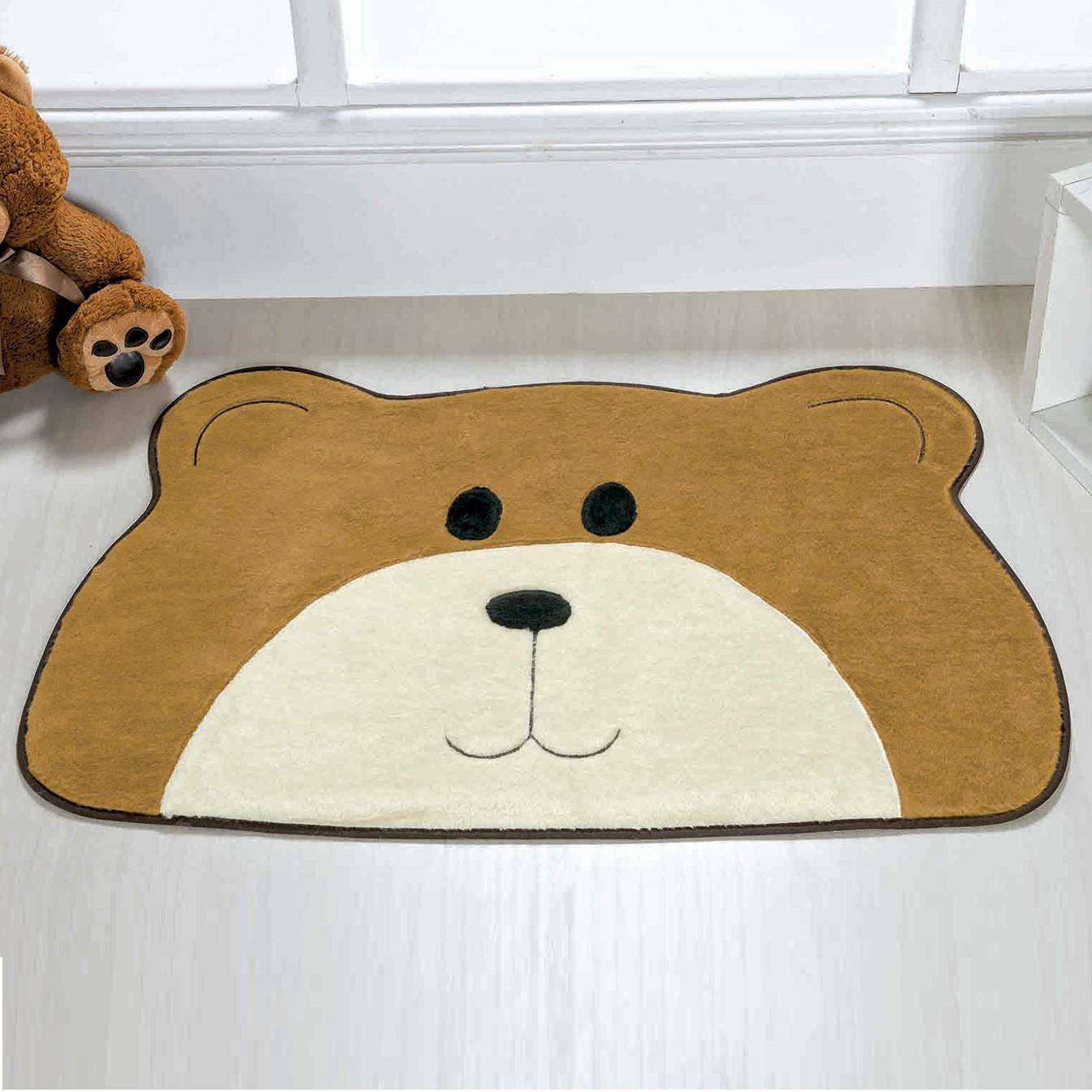 Tapete Urso Carinho Caramelo