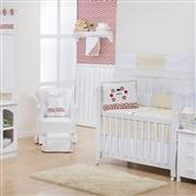 Quarto para Bebê sem Cama Babá Joaninha Charme