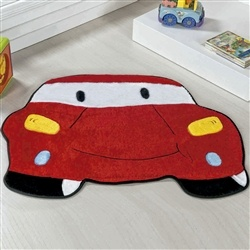 Tapete Carro Vermelho