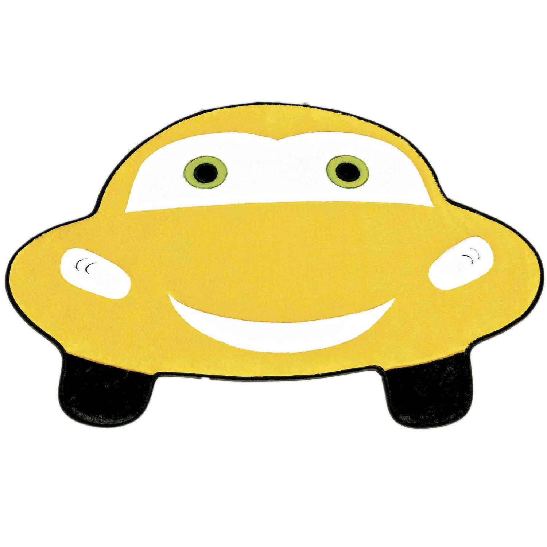 Tapete Fusca Feliz Amarelo
