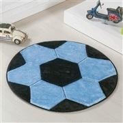 Tapete Big Bola de Futebol Azul