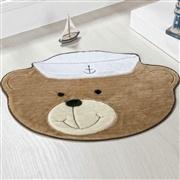 Tapete Baby Urso Marinheiro Bege