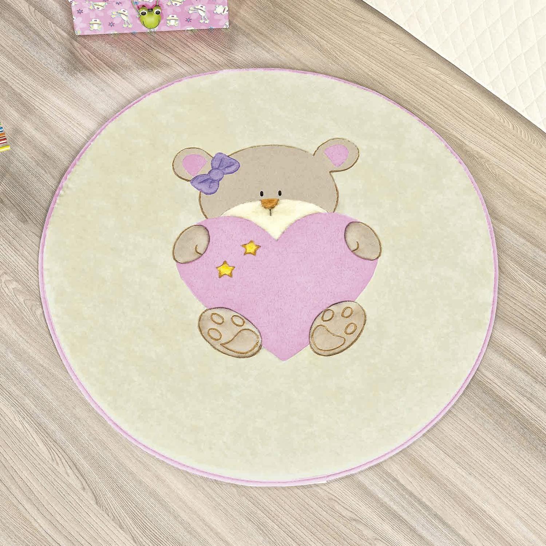 Tapete Baby Ursinha Bebê Rosa