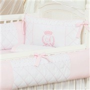 Quarto para Bebê VIP Inicial do Nome Personalizada Rosa
