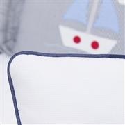 Almofada Laço Marítimo Marinho