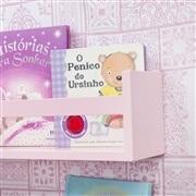 Prateleira para Livros Rosa