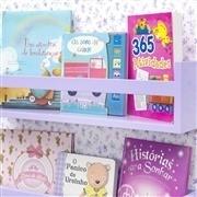 Prateleira para Livros Lilás