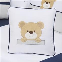 Almofada Bordada Urso Bernardo