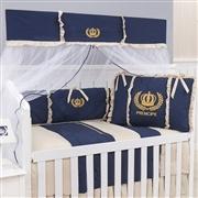 Quarto para Bebê sem Cama Babá Príncipe Dourado
