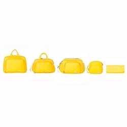 Conjunto de Bolsas Maternidade Paris Amarelo